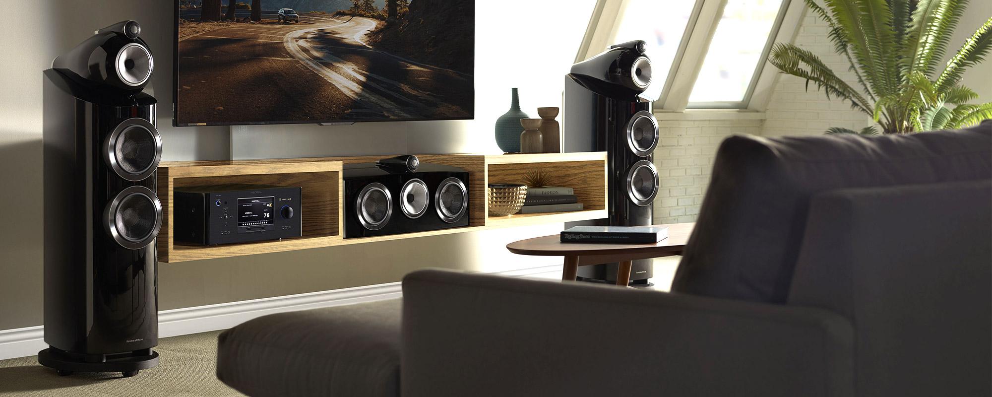 Projetos de home theater de alto padrão