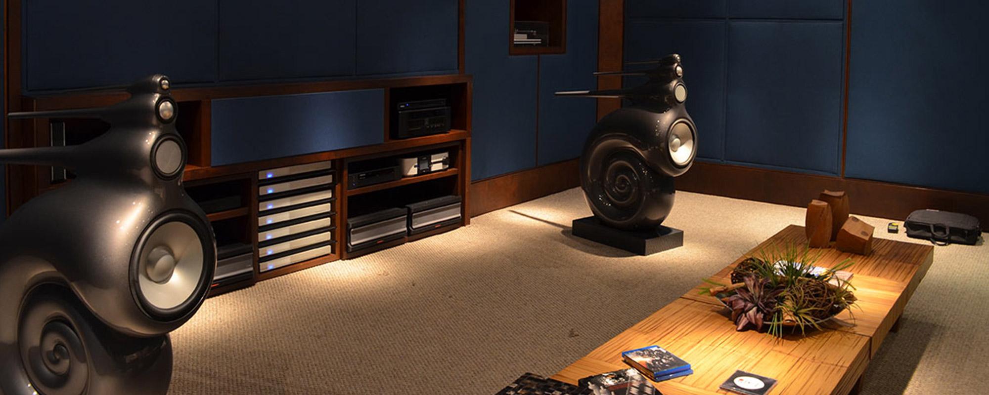 Sistemas High-end para audição de músicas