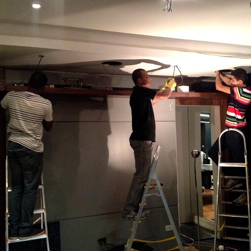 Projeto de home theater - Infraestrutura e cabeamento