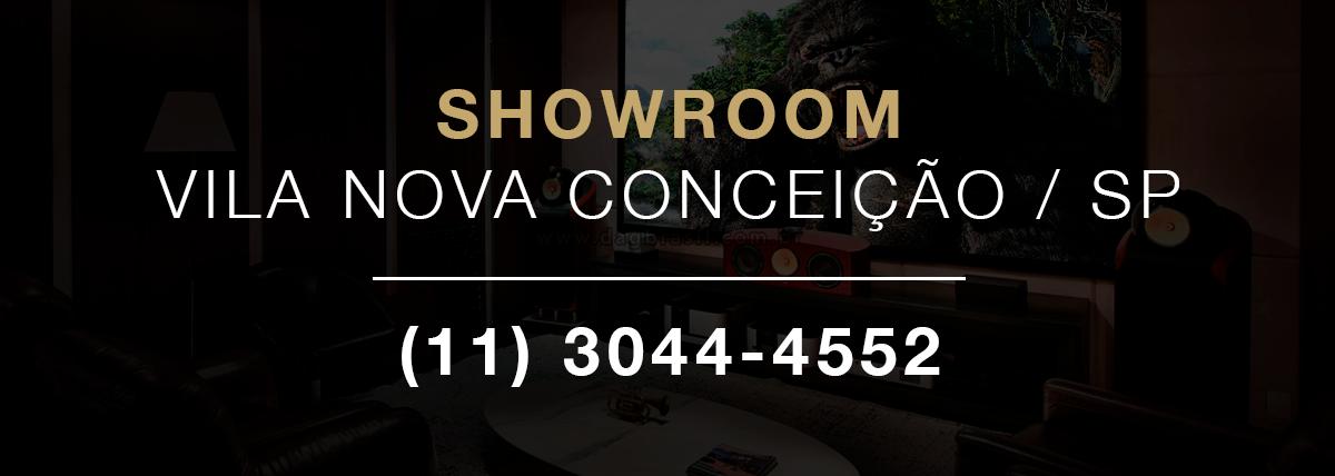 Projetos de Automação Residencial e Home Theater com Caixas B&W em São Paulo - Vila Nova Conceição