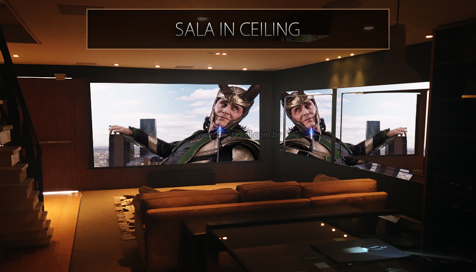 Sala Home In Ceiling - Showroom DAG Brasil Jd. Anália Franco