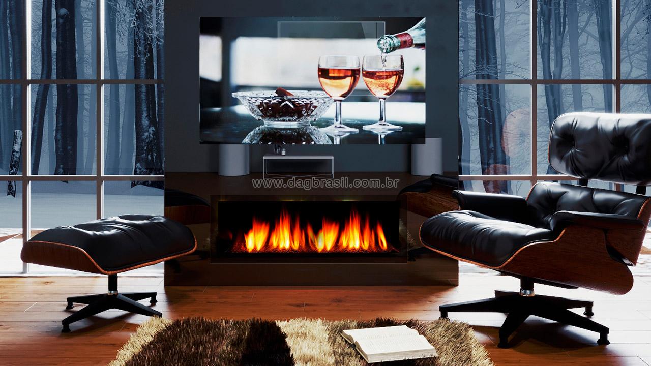 TV Espelho MirrorTV - Espelho que se transforma em TV
