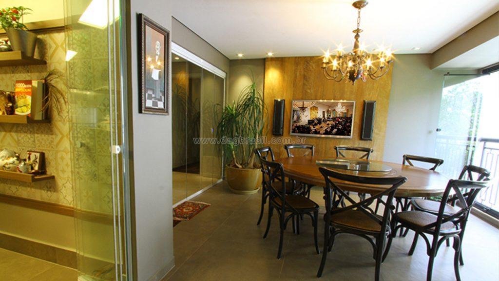 Projeto de automação residencial para luxuoso apartamento no Panambi, zona sul de São Paulo