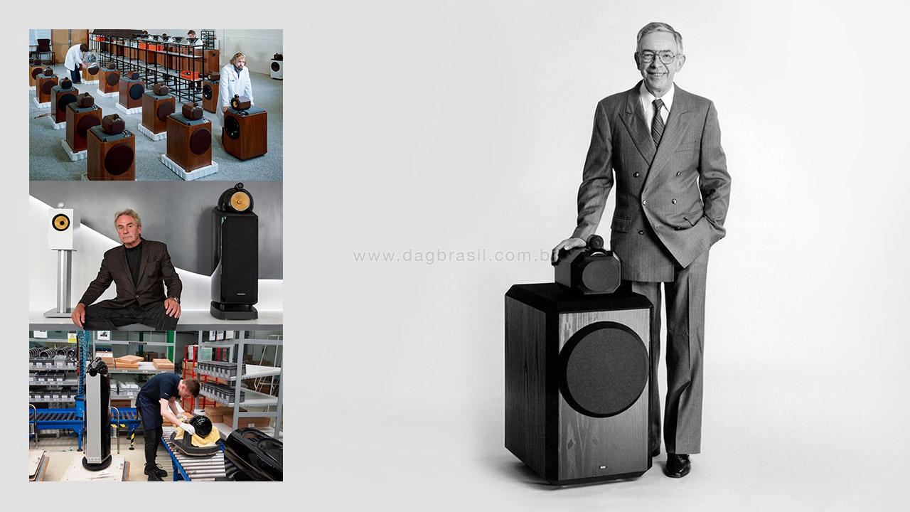 John Bowers - Caixas B&W Bowers & Wilkins - Revenda Oficial B&W Bowers & Wilkins no Brasil