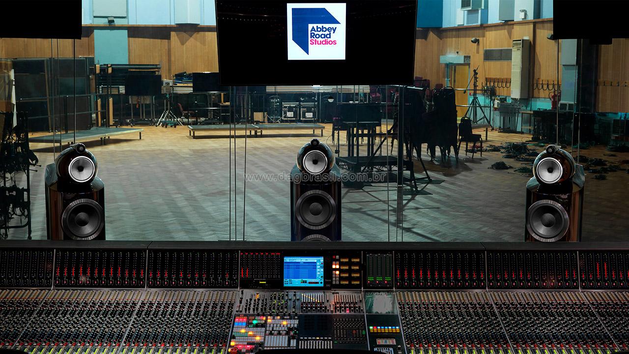 Abbey Road Studios - Caixas B&W Bowers & Wilkins - Revenda Oficial B&W Bowers & Wilkins no Brasil