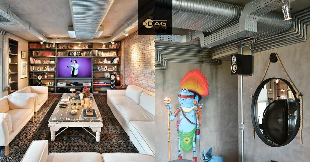 Projeto de home theater com caixas B&W para apartamento em Guarulhos, SP | DAG Brasil