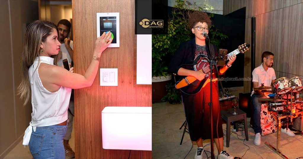 Apresentação de automação residencial e show da cantora Brena Gonçalves no Savant Experience Salvador 2019 | Dag Brasil Salvador