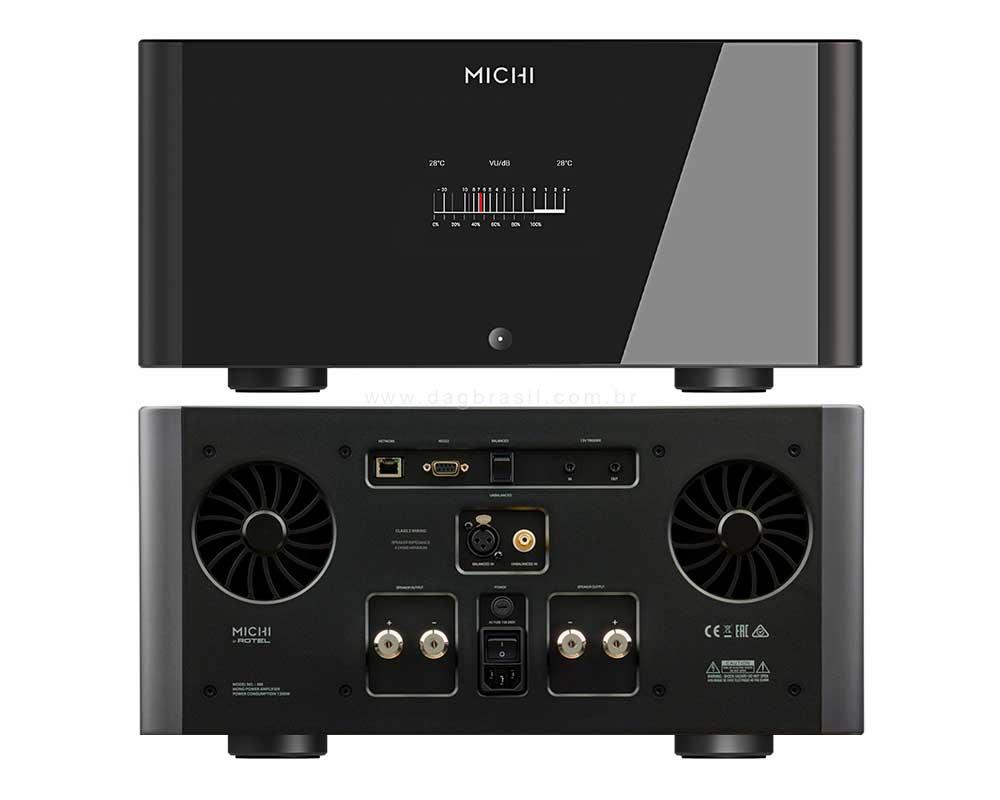 Amplificador Michi M8 - Rotel Hi-fi | Dag Brasil