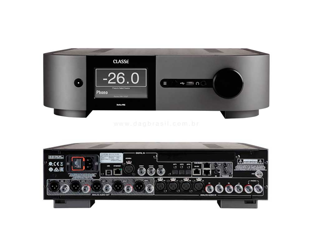 Pré-amplificador Classé Audio Delta Pre | Dag Brasil