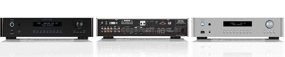 Pré-amplificador Estéreo Rotel RC 1572 | Dag Brasil