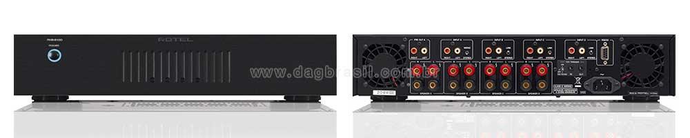 Amplificador Multicanal Rotel RKB-8100 | DAG Brasil