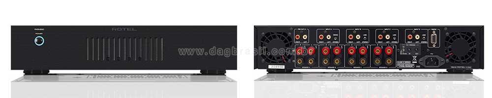 Amplificador Multicanal Rotel RKB-850 | DAG Brasil