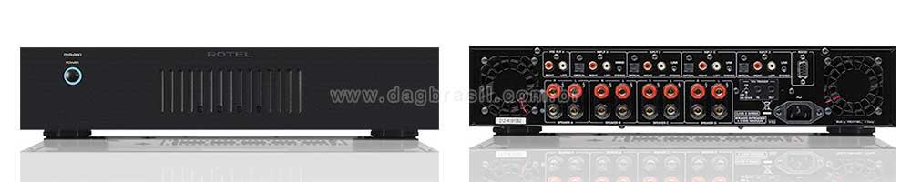Amplificador Multicanal Rotel RKB-D850 | DAG Brasil