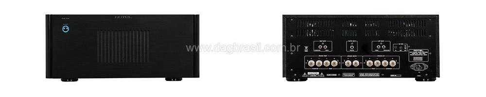 Amplificador Multicanal Rotel RMB 1555 | DAG Brasil
