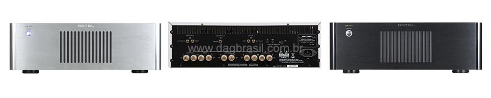 Amplificador Multicanal Rotel RMB 1575 | DAG Brasil