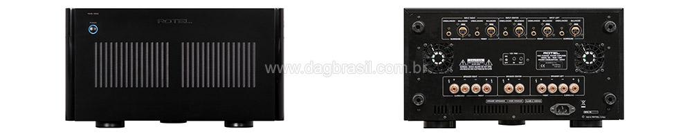 Amplificador multicanal Rotel RMB 1585 | DAG Brasil