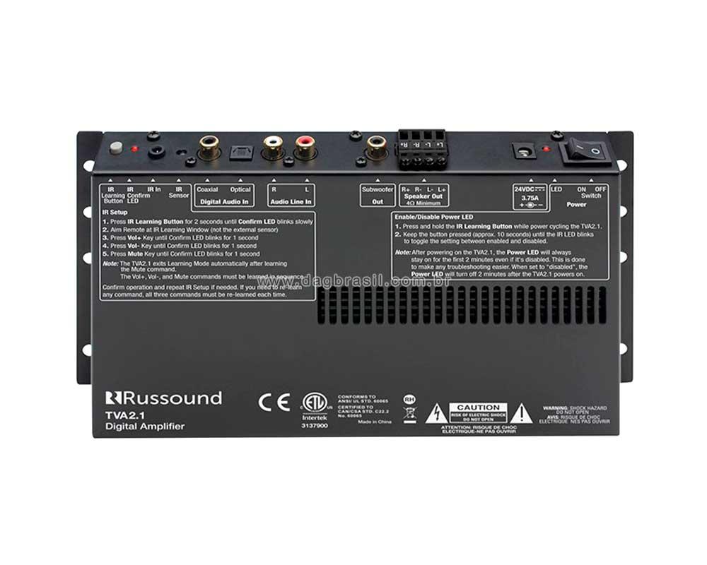 Amplificador Russound TVA 2.1 | Dag Brasil