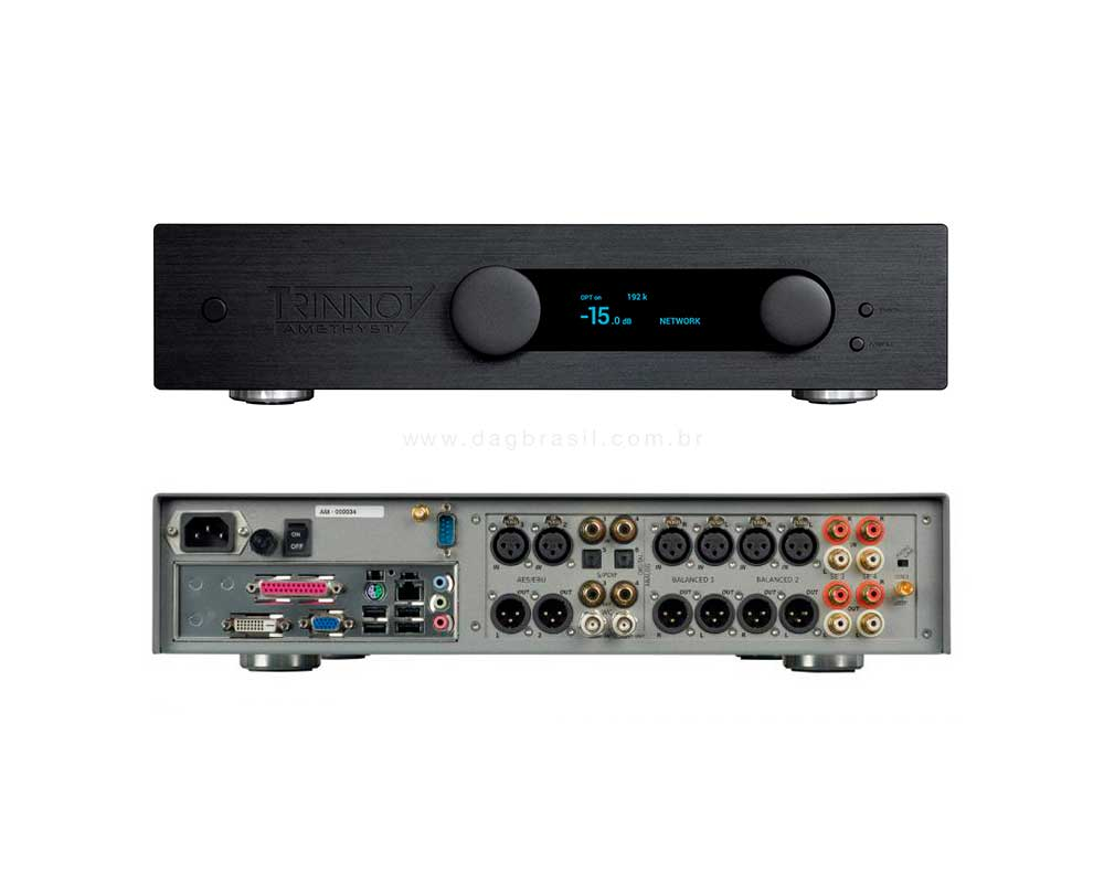 Pre-amplificador Estéreo Trinnov Audio Amethyst | Dag Brasil