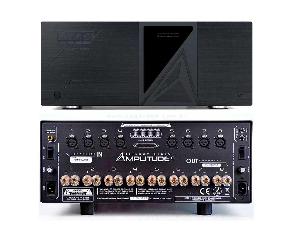 Amplificador Multicanal Trinnov Audio Amplitude 8 | Dag Brasil