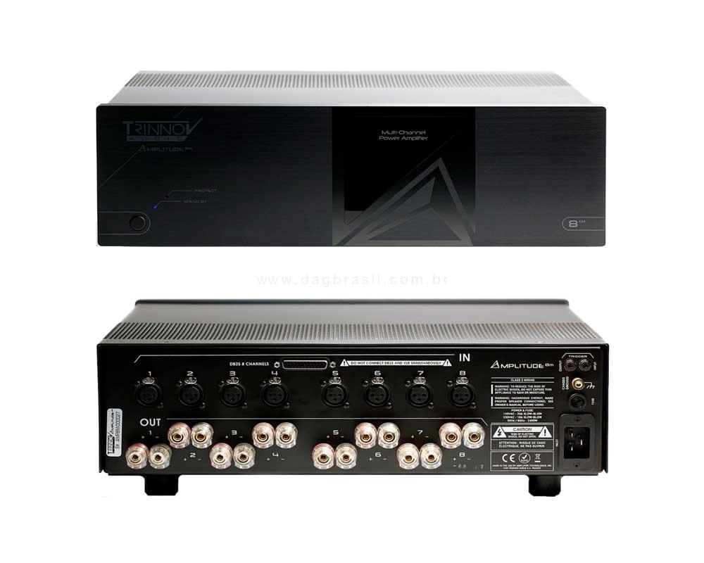 Amplificador Multicanal Trinnov Audio Amplitude 8m | Dag Brasil