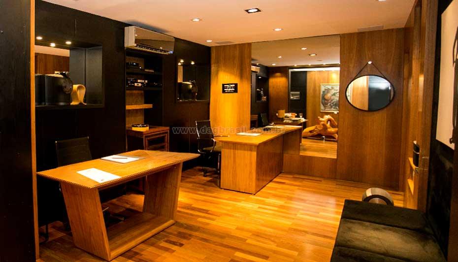 Sala de Atendimento Empresa de AUtomação Residencial | DAg Brasil