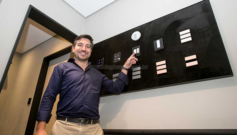 Espaço Piero Infinity Control no Showroom DAg Brasil São Paulo | Dag Brasil